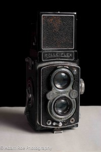 My grandpa's Rolleiflex, from the attic.