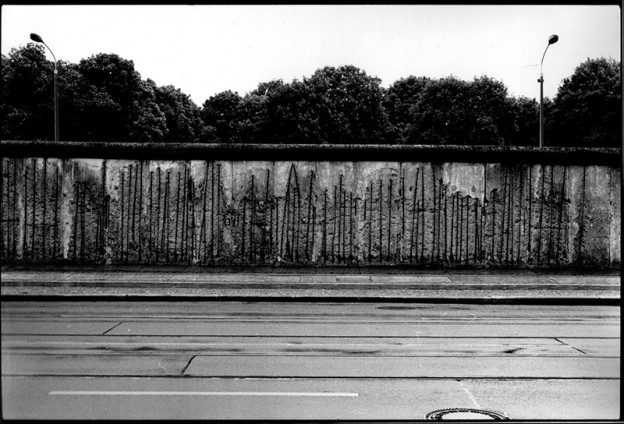 Berlin Wall Memorial, 2013, Ilford Delta 400 in ID-11 1:1, 12 min. with constant agitation